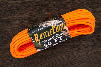 Battlecord 2650 neon orange, 1 метр