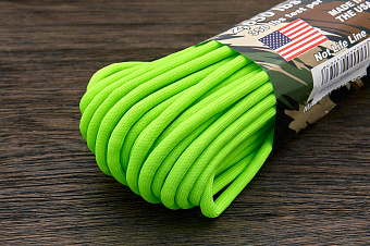 Battlecord 2650 neon green, 1 метр